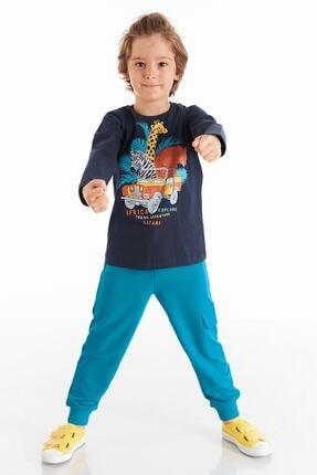 Denokids Safari Erkek Çocuk Pantolon Takım 0