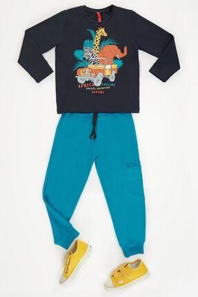 Denokids Safari Erkek Çocuk Pantolon Takım 2