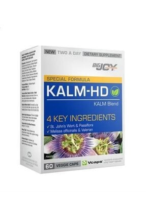 Big Joy Bigjoy Vitamins Kalm-hd Bitkisel 60 Kapsül 0