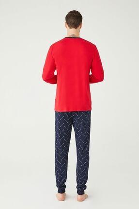 US Polo Assn U.s. Polo Assn. Erkek Yuvarlak Yaka Pijama Takımı 18333 2