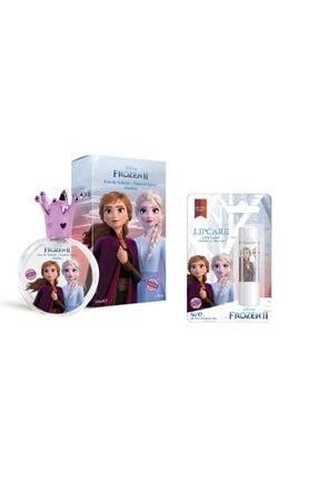 DİSNEY Frozen Elsa  Parfüm + Elsa Lip Stick 50 ml 0