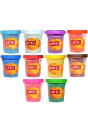 Lets 10 Renk Oyun Hamuru 560 gr. L83100 0