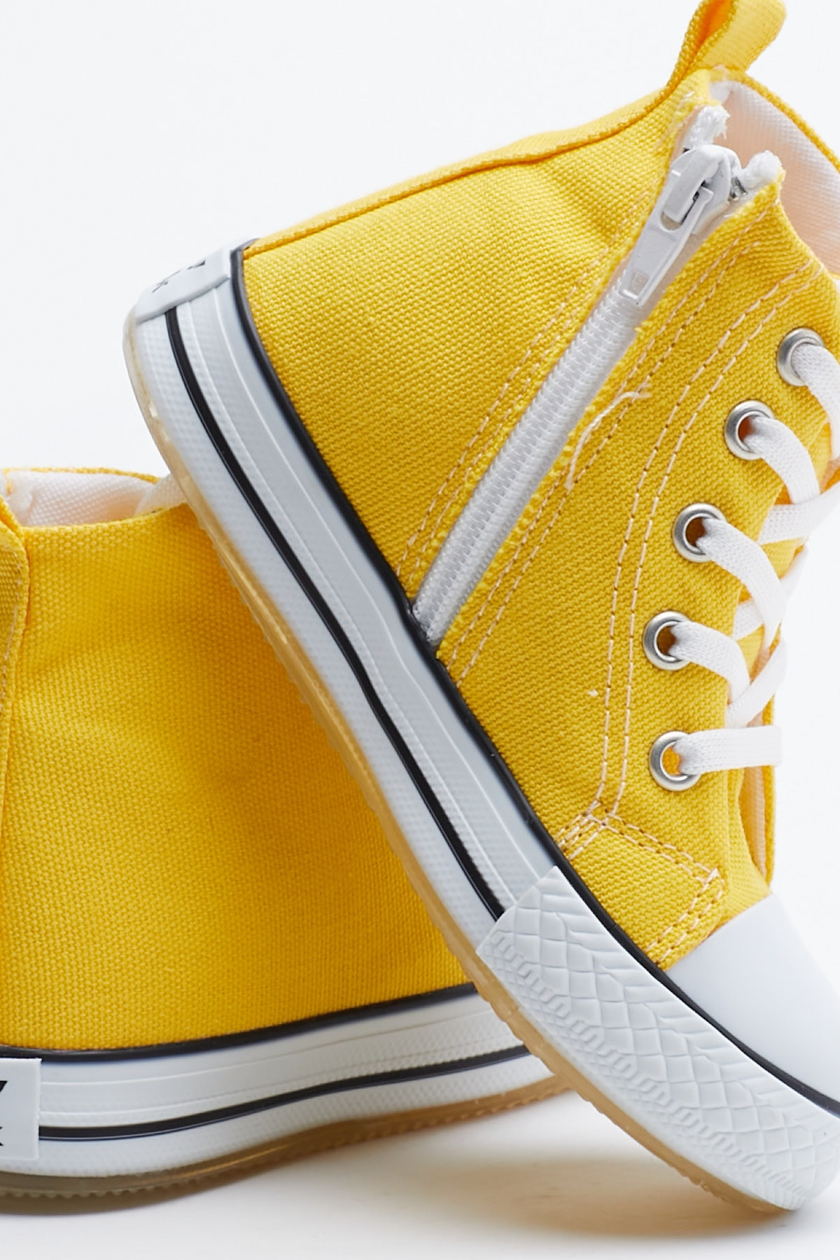 Tonny Black Sarı Çocuk Spor Ayakkabı Uzun Tb999 3