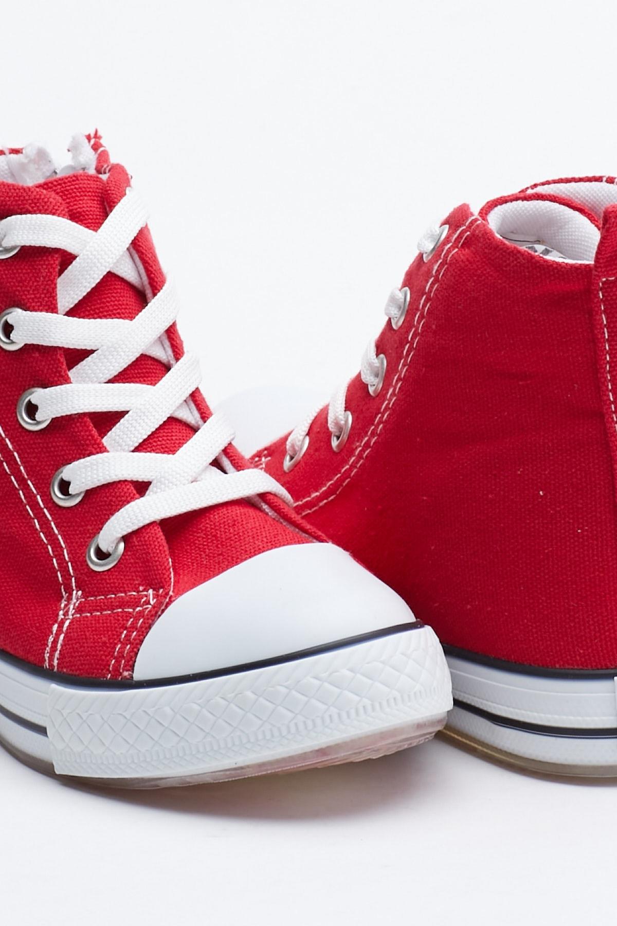 Tonny Black Kırmızı Çocuk Spor Ayakkabı Uzun Tb999 1