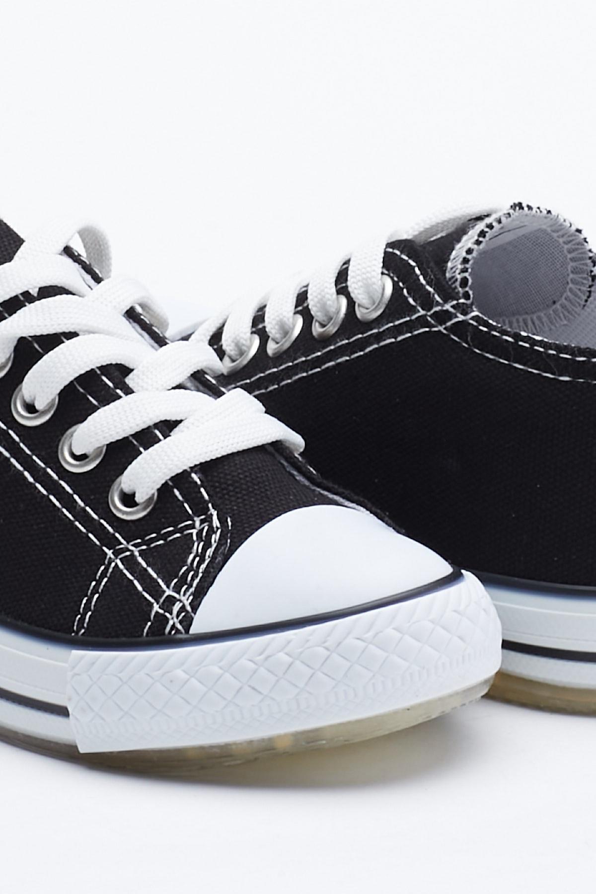 Tonny Black Siyah Çocuk Spor Ayakkabı Tb998 2