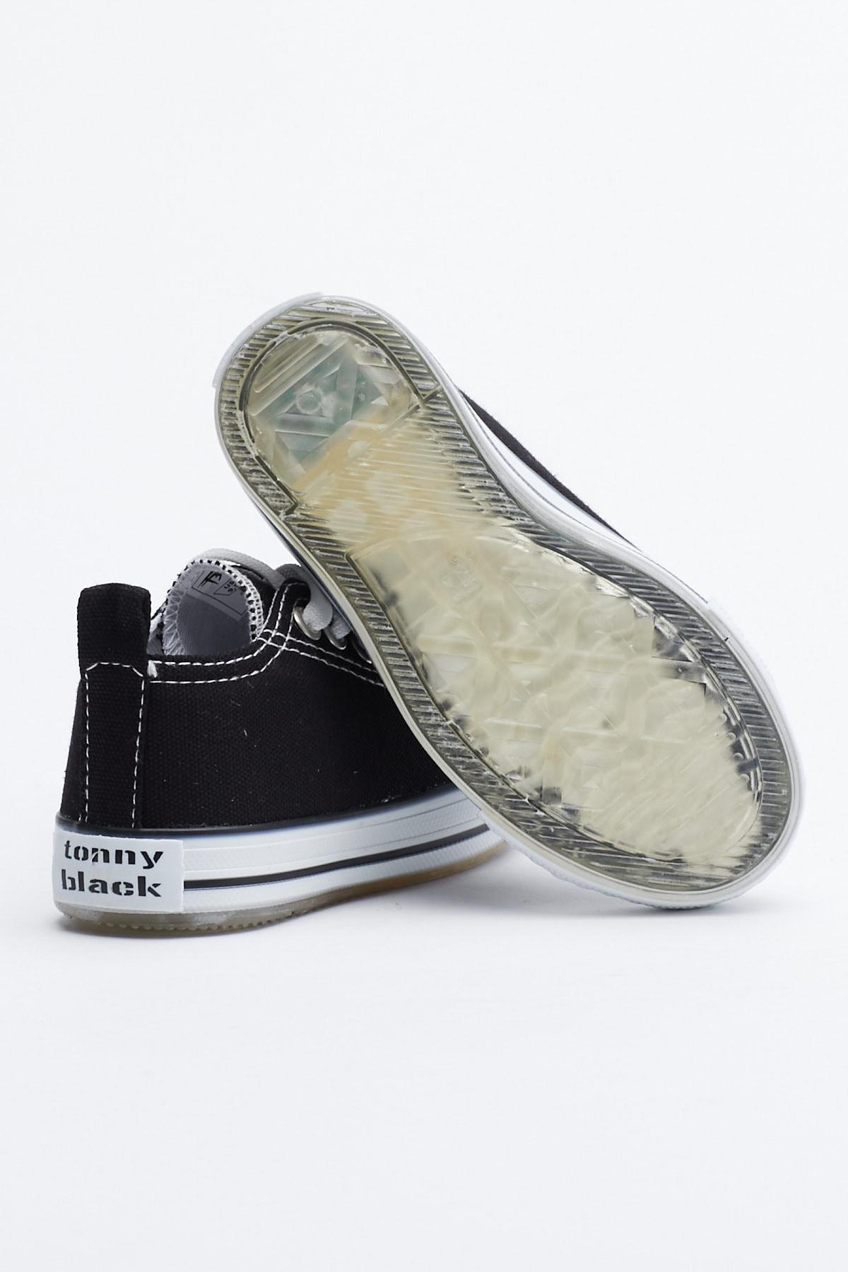 Tonny Black Siyah Çocuk Spor Ayakkabı Tb998 3