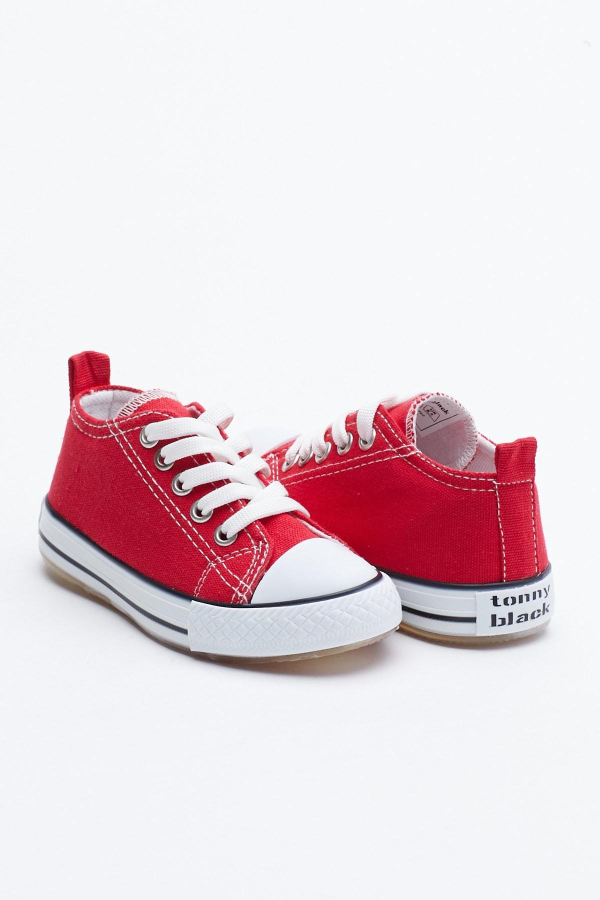 Tonny Black Kırmızı Çocuk Spor Ayakkabı Tb998 1