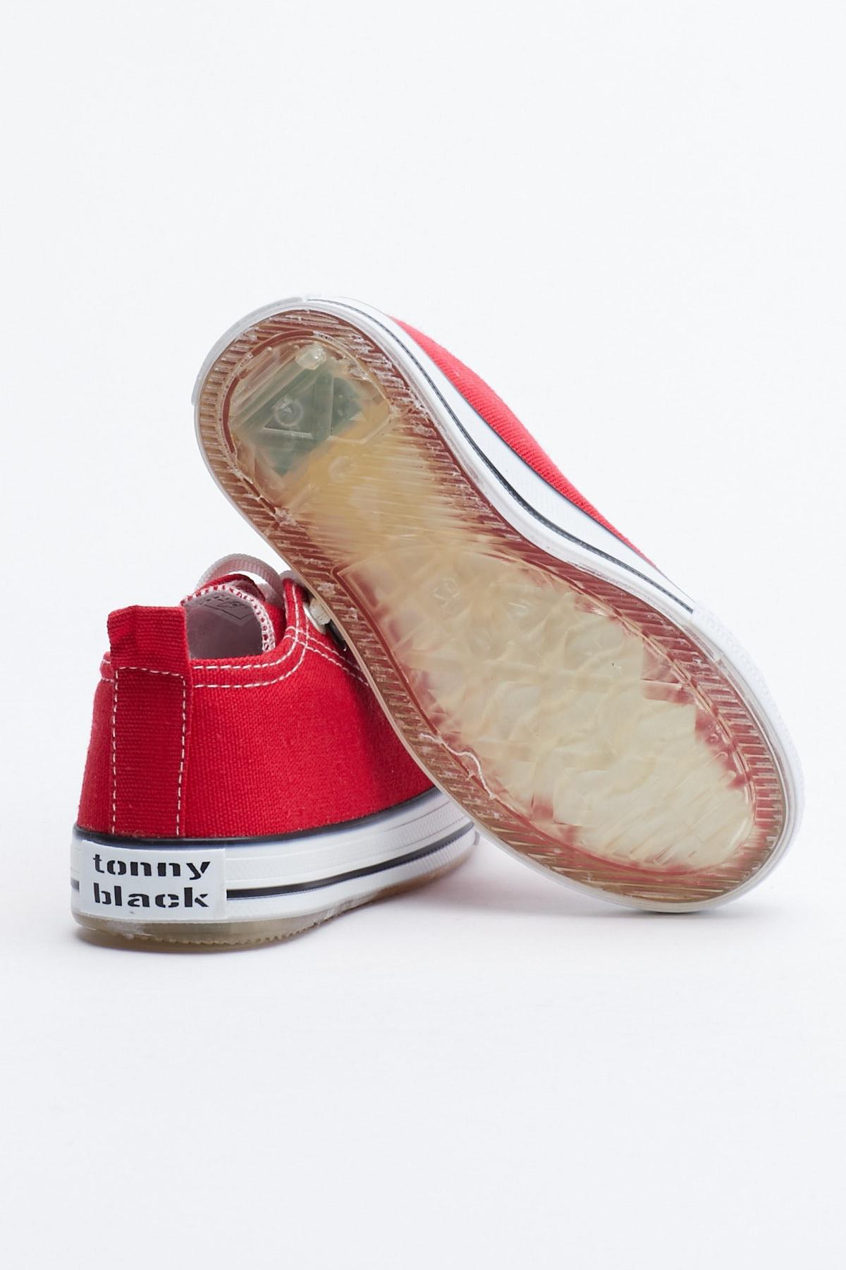 Tonny Black Kırmızı Çocuk Spor Ayakkabı Tb998 3
