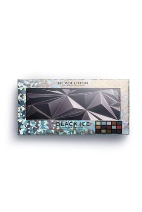 MAKEUP REVOLUTION Far Paleti - Revolution Glass Black Ice Eyeshadow Palette 4