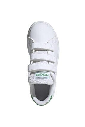 adidas ADVANTAGE Beyaz Erkek Çocuk Sneaker Ayakkabı 100481637 1