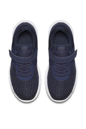 Nike Lacivert Revolution 4 Psv Unisex Çocuk Ayakkabı 943305 1
