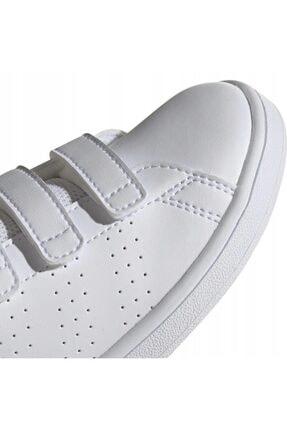 adidas ADVANTAGE C Beyaz Erkek Çocuk Sneaker Ayakkabı 100481637 4