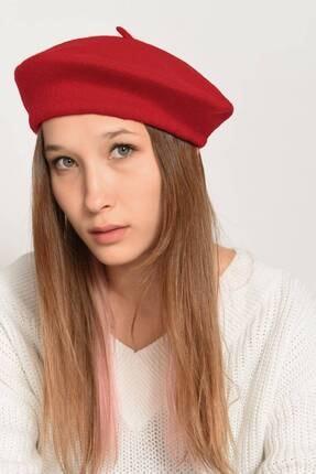 Addax Kadın Kırmızı Ressam Şapka 1
