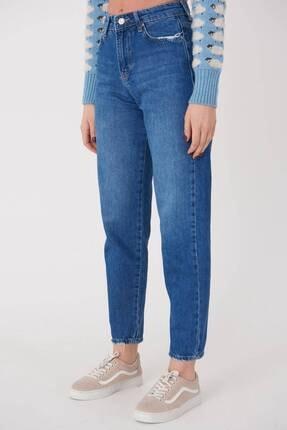 Addax Kadın Kot Rengi Cep Detaylı Jean Pantolon Pn7079 Adx-0000023667 1