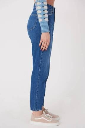 Addax Kadın Kot Rengi Cep Detaylı Jean Pantolon Pn7079 Adx-0000023667 3