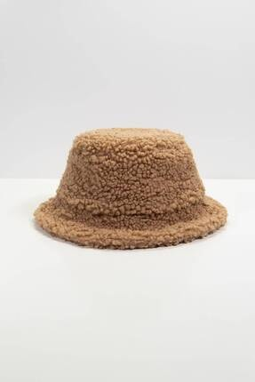 Addax Kadın Sütlü Kahve Bucket Şapka Şpk1031 - F2 ADX-0000022934 0