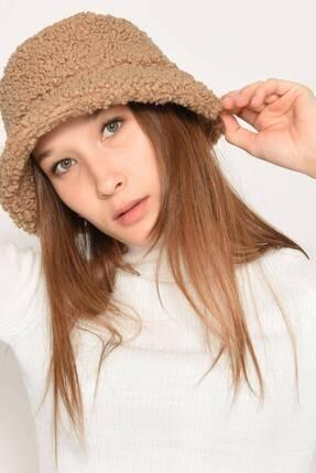 Addax Kadın Sütlü Kahve Bucket Şapka Şpk1031 - F2 ADX-0000022934 1