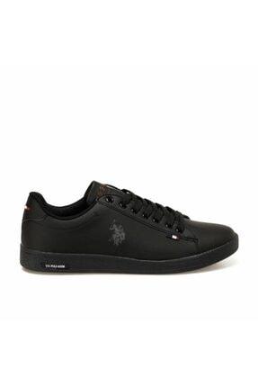 US Polo Assn Franco Dhm Siyah Erkek Günlük Sneaker 1