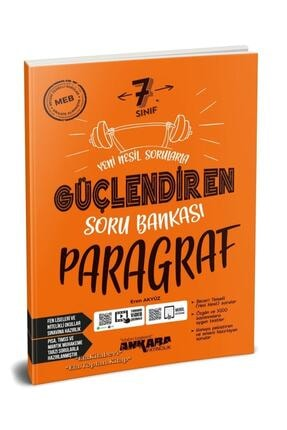Ankara Yayıncılık 7. Sınıf Paragraf Güçlendiren Soru Bankası Yeni 2021 0