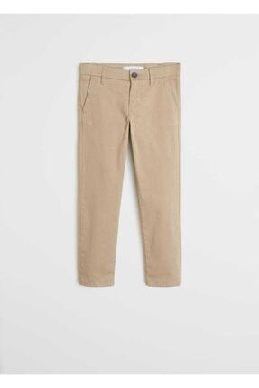 Mango Erkek Çocuk Bej Pantolon 0