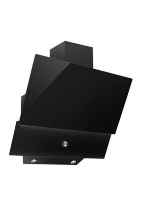 Luxell Da6-830 Siyah Ankastre Cam Davlumbaz 0