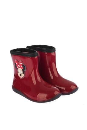 MINNIE MOUSE Mickey Mouse 97238 Kırmızı Siyah Kız Çocuk Panduf 100394274 1