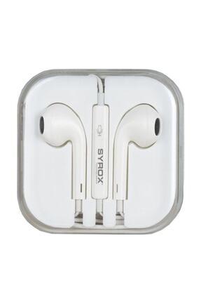 Syrox Mikrofonlu Iphone Kulaklık Kutusuz 1