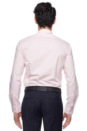 Altınyıldız Classics Erkek Pembe Tailored Slim Fit Gömlek 3