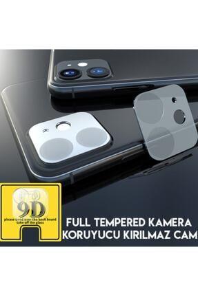 JACQUELYN Apple Iphone 11 Kırılmaz 6.1 Inch 9d Kamera Koruma Camı 3