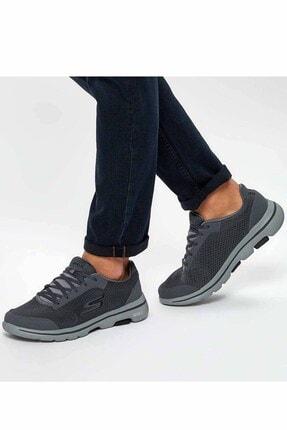 Skechers Erkek Gri Yürüyüş Ayakkabısı 0