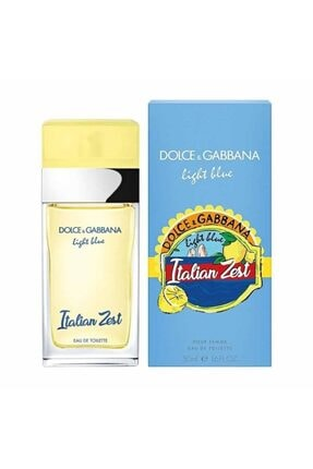 Dolce Gabbana Light Blue Italian Zest Edt 50 Ml Kadın Parfüm 1