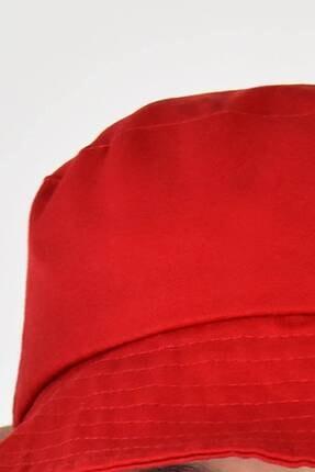 Addax Kadın Kırmızı Şapka Şpk507 - H13 Adx-0000021483 2