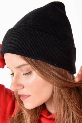 Addax Kadın Siyah Şapka Şpk12835 - Aks -e5 ADX-0000020470 2