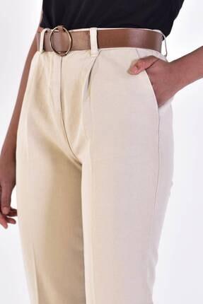 Addax Kadın Taş Kemerli Pantolon Pn4204 - B6A6Z2 Adx-0000020952 3