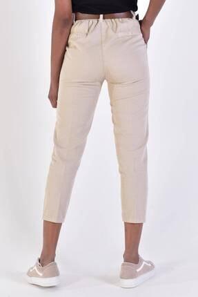 Addax Kadın Taş Kemerli Pantolon Pn4204 - B6A6Z2 Adx-0000020952 4