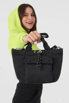 Addax Kadın Siyah Askılı Çanta Ç506 - F9 Adx-0000023734 3