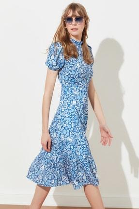 TRENDYOLMİLLA Çok Renkli Desenli Elbise TWOSS20EL0894 0