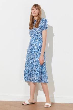TRENDYOLMİLLA Çok Renkli Desenli Elbise TWOSS20EL0894 2