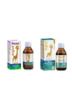 Argivit Multivitamin 150 Ml Şurup + Focus 150 Ml Şurup 0