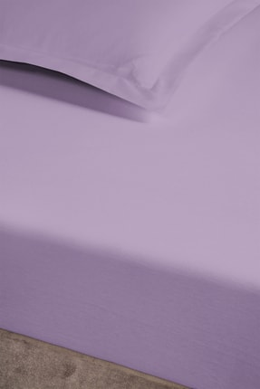 Pierre Cardin Penye Lastikli Çarşaf King Size 200x200 cm Lila 2