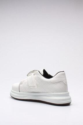 Rovigo Kadın Beyaz Cilt  Spor Ayakkabı 3