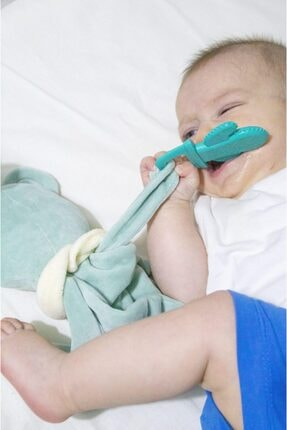 Babyjem Yeşil Diş Kaşıyıcı Uyku Arkadaşım 1