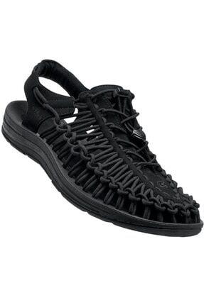 Keen Uneek Erkek Sandalet Siyah 0