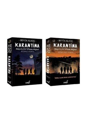 İndigo Kitap Karantina Serisi Dördüncü Perde Ve Beşinci Perde Takım 2 Kitap Set 0