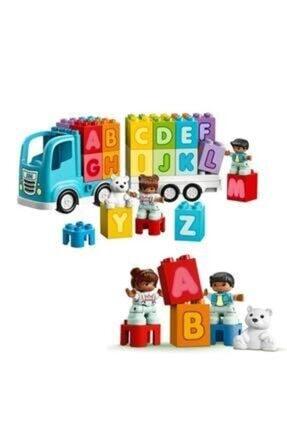 LEGO -10915 Duplo Ilk Alfabe Kamyonum 1