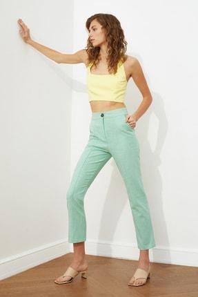 TRENDYOLMİLLA Mint Klasik Pantolon TWOSS20PL0008 1