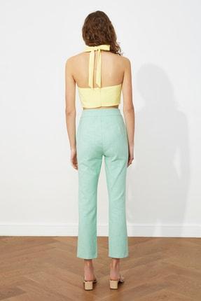 TRENDYOLMİLLA Mint Klasik Pantolon TWOSS20PL0008 4