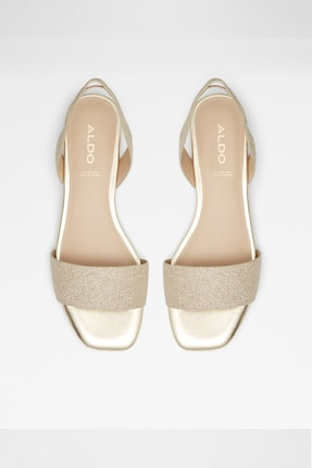 Aldo Kadın Altın Sandalet 3