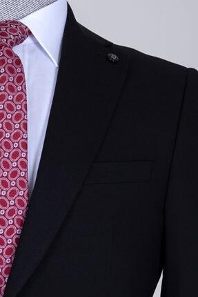 Hatemoğlu Erkek Siyah Slim Fit Takım Elbise 1