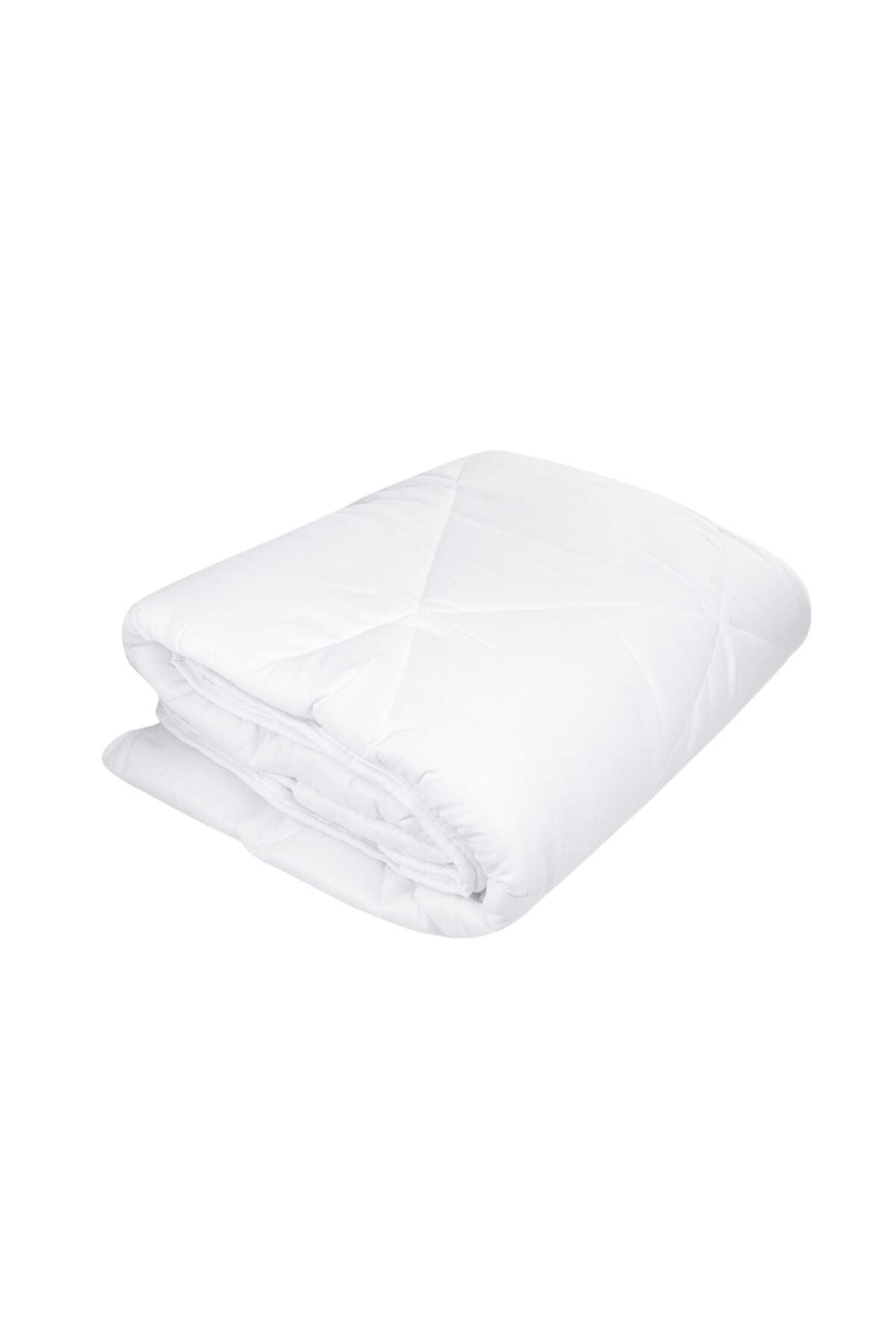 Beyaz Softy Micro Soft Çift Kişilik Uyku Pedi
